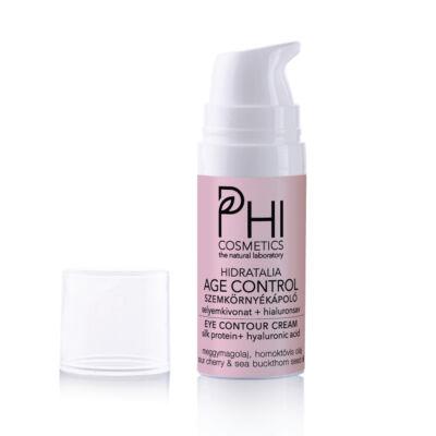 Hidratália AGE CONTROL Selyemkivonat+Hyaluron Szemkörnyékápoló meggymagolajjal 12.5 ml