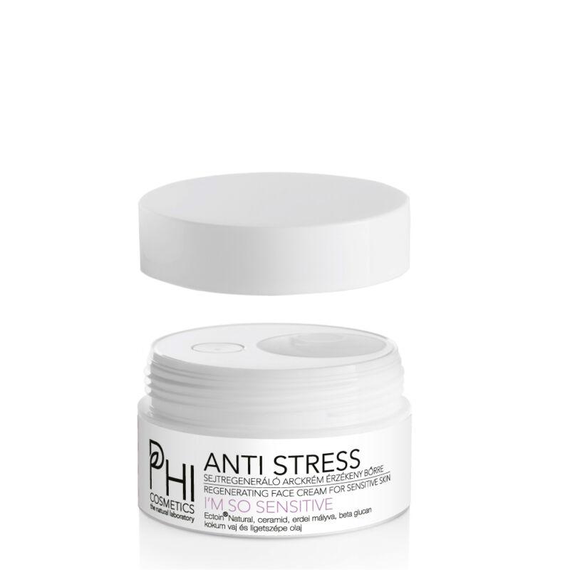 ANTI STRESS hipoallergén regeneráló arckrém érzékeny bőrre + Highly sensitive lipid booster olajszérum
