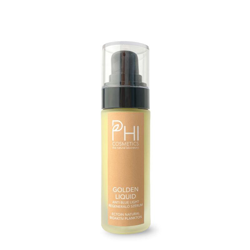 Golden Liquid Ectoin® és Bioaktív Plankton Anti-Age és Anti-Blue light regeneráló szérum MAP C- vitaminnal
